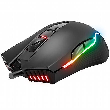 Mouse Gamer KWG Orion M1 - 7000dpi - 6 Botões - RGB
