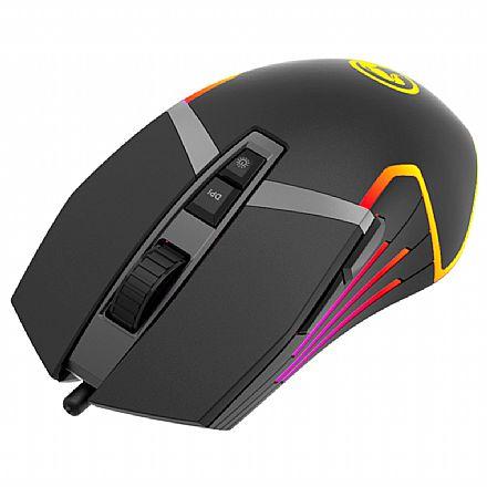 Mouse Gamer Marvo Scorpion G941 - 12000dpi - 9 Botões Programáveis - RGB