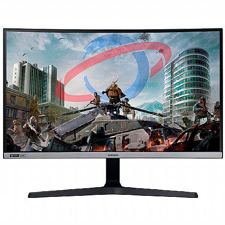"""Monitor Gamer 27"""" Samsung Odyssey Curvo - Full HD - 240Hz - 4ms - G-Sync - LC27RG50FQLXZD"""