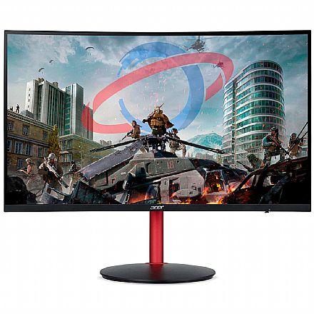 "Monitor Gamer 23.6"" Acer XZ242Q - Full HD - 144Hz - 4ms/1ms - Freesync - HDR400 - HDMI/DisplayPort"