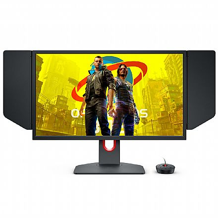 "Monitor Gamer 24.5"" Benq Zowie XL2546K - Full HD - 240Hz - 1ms - Tecnologia DyAc - HDMI/DisplayPort"