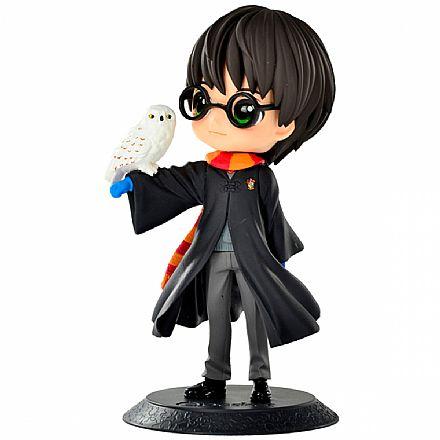 Action Figure - Harry Potter - Harry Potter com Hedwig - Q Posket - Bandai Banpresto 20915