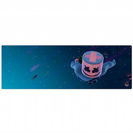 Mousepad Bits Gamer Marshmello - Extendido: 900 x 300mm