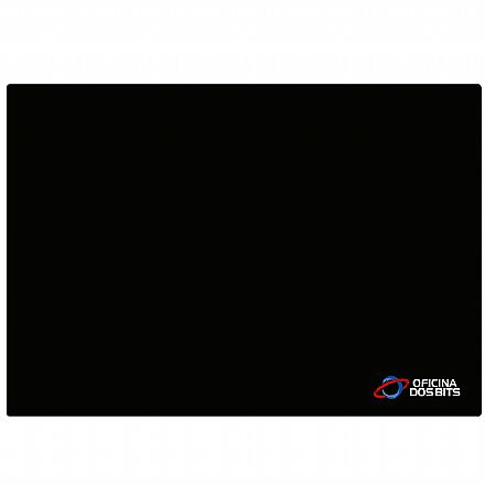 Mousepad Bits Preto - Médio: 360 x 250mm