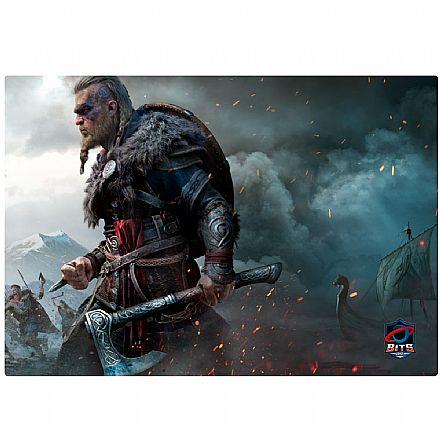 Mousepad Bits Gamer Assassin`s Creed Valhalla - Grande: 400 x 280mm
