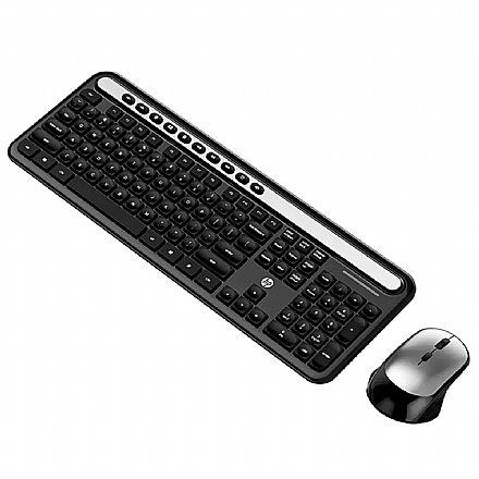 Kit Teclado e Mouse sem Fio HP CS500 - ABNT2 - 2000dpi - 5RB19PA#AB2
