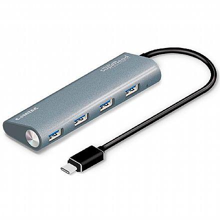 HUB USB-C - 4 Portas USB 3.1 - Superlead Comtac-9339