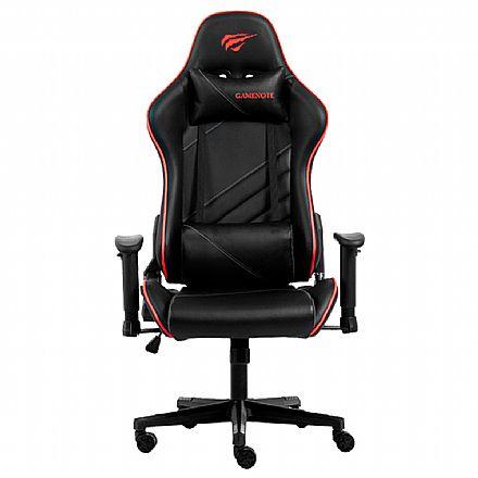 Cadeira Gamer Havit GC930 - Preta e Vermelha