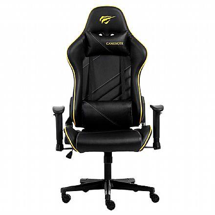 Cadeira Gamer Havit GC930 - Preta e Amarela