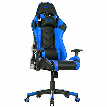 Cadeira Gamer Havit GC932 - Preta e Azul