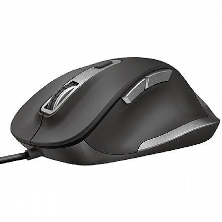 Mouse USB Trust Confort Fyda - 5000dpi - 6 Botões - T23808