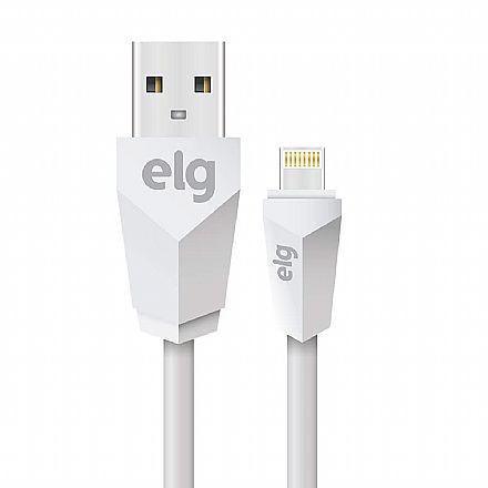 Cabo Lightning para USB - 2 metros - ELG L820