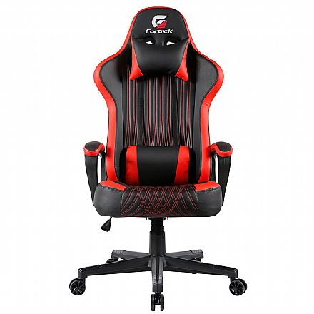 Cadeira Gamer Fortrek Vickers - Preta e Vermelha - 70520
