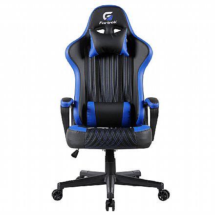 Cadeira Gamer Fortrek Vickers - Preta e Azul - 70521