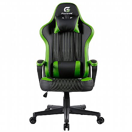 Cadeira Gamer Fortrek Vickers - Preta e Verde - 70522