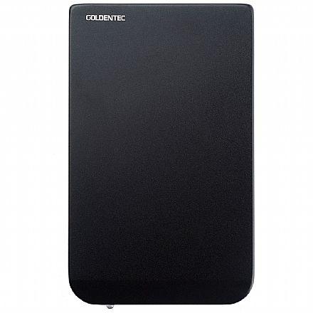 """Case para HD 2.5"""" - USB 2.0 - Goldentec 28607"""