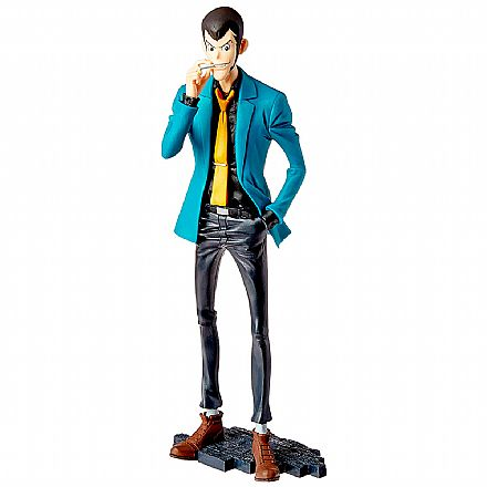 Action Figure - Lupin The Third Part 5 - Lupin - Master Stars Piece II - Bandai Banpresto 28310/28311