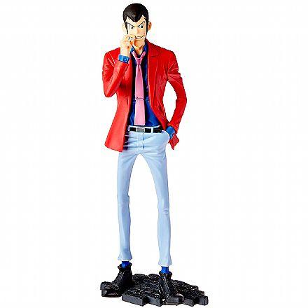 Action Figure - Lupin The Third Part 5 - Lupin - Master Stars Piece III - Bandai Banpresto 28392/28393