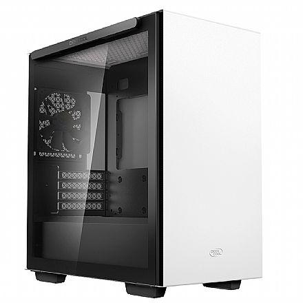 Gabinete Deepcool Macube 110 - Lateral em Vidro Temperado - USB 3.0 - Branco - R-MACUBE110-WHNGM0N-B-1