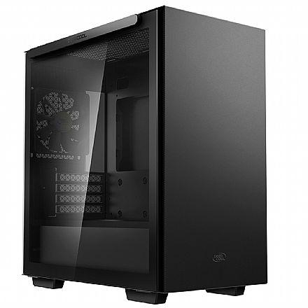 Gabinete Deepcool Macube 110 - Lateral em Vidro Temperado - USB 3.0 - Preto - R-MACUBE110-BKNGM0N-B-1