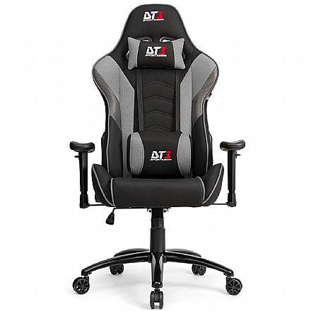 Cadeira Gamer DT3 Sports Elise Fabric - Encosto Reclinável - Construção em Aço - Cinza - 12192-5