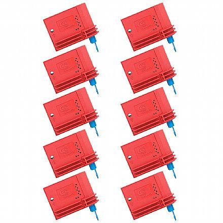 Kit Protetor Contra Surto Clamper VCL 275V 20KA Perfurante - DPS Anti Raio - 10 unidades