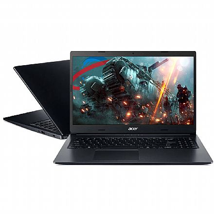 "Notebook Acer Aspire A315-23-R0LD - Tela 15.6"", Ryzen 5, 12GB, SSD 120GB + HD 1TB, Radeon Vega 8, Windows 10"
