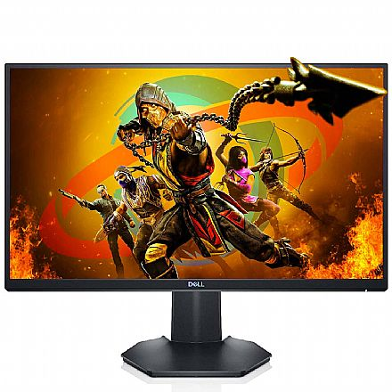 "Monitor 23.8"" Dell S2421HGF Gamer - Full HD - 144Hz - 1ms - Freesync - HDMI/DisplayPort"
