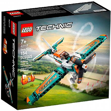 LEGO Technic - Avião de Corrida - 42117
