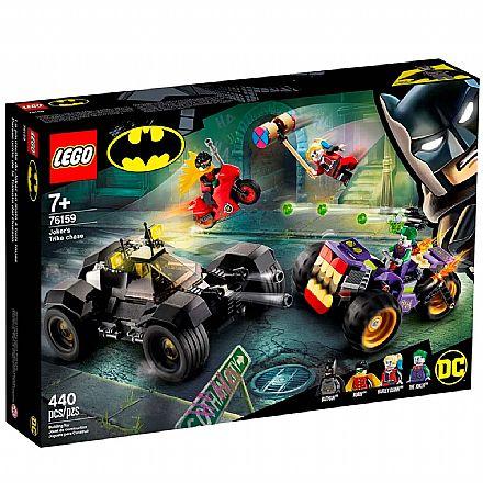 LEGO Super Heroes DC Comics - Perseguição de Triciclo do Coringa - 76159