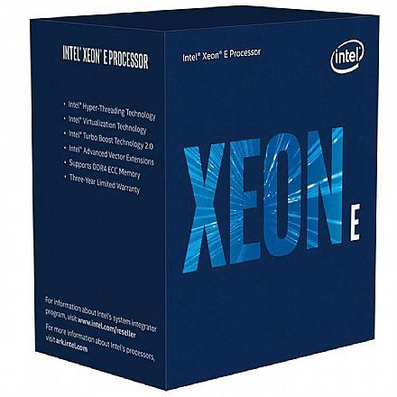 Intel® Xeon® E-2146G - LGA 1151 - 3,50GHz (Turbo 4.50GHz) - Cache 12MB - BX80684E2146G