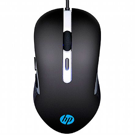 Mouse Gamer HP G210 - 2400dpi - LED - 6 Botoes - 7ZZ89AA