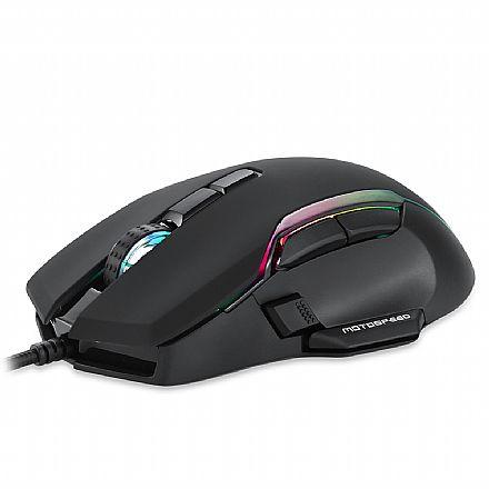 Mouse Gamer Motospeed V90 - 12000dpi - RGB - 8 Botões - Preto - FMSMS0100PTO