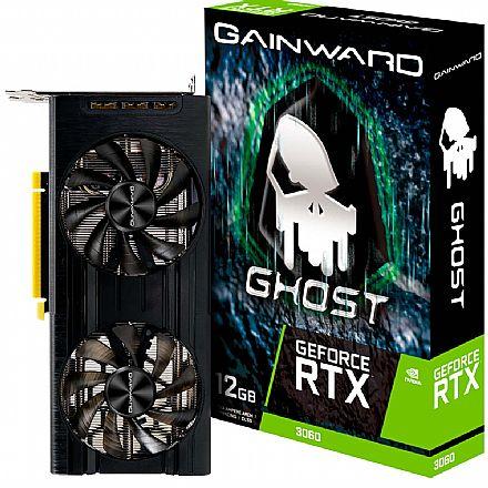 GeForce RTX 3060 12GB GDDR6 192bits - Ghost Series - Gainward NE63060019K9-190AU - Selo LHR