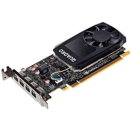 Placa Gráfica Nvidia Quadro P620 2GB GDDR5 128bits - PNY VCQP620V2-PB