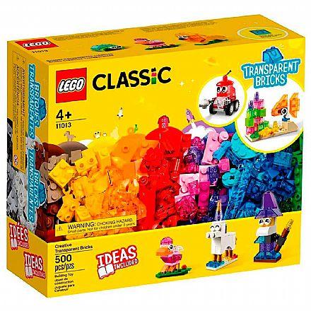LEGO Classic - Blocos Transparentes Criativos - 11013