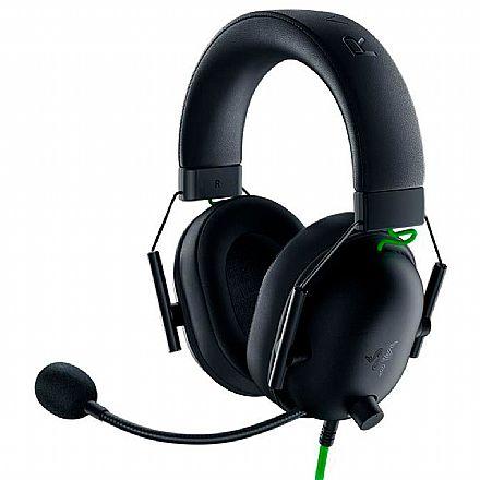 Headset Gamer Razer Blackshark V2 X - Controle de Volume e Microfone - Conector P2 - RZ04-03240100-R3U1