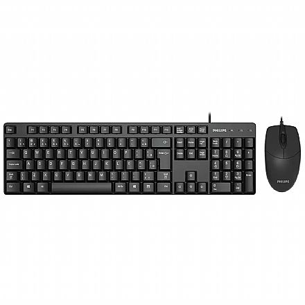 Kit Teclado e Mouse Philips SPT6254 - ABNT2 - 1000dpi