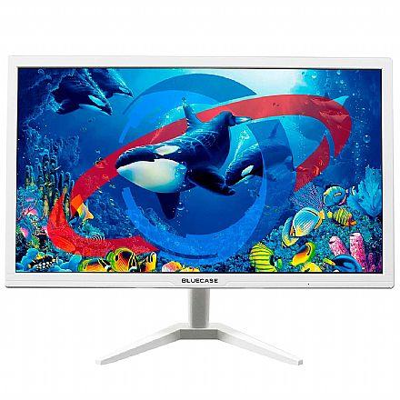"""Monitor 19"""" Bluecase BM19D2HVW - 1440 x 900 - HD - HDMI / VGA - Branco"""