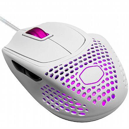 Mouse Gamer Cooler Master MM720 - 16000dpi - 6 Botões - RGB - Branco Fosco - MM-720-WWOL1