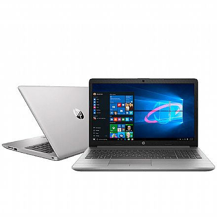 "Notebook HP 250 G7 - Tela 15.6"", Intel i5 8265U, RAM 12GB, SSD 256GB, Windows 10"