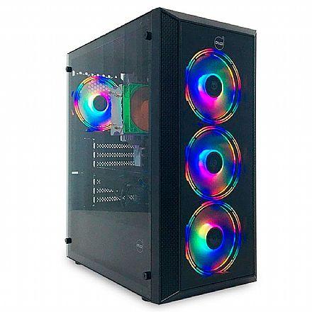 Gabinete Gamer Dazz Netuno 63000005 - Lateral em Acrilíco - USB 3.0
