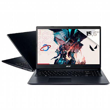 "Notebook Acer Aspire A315-23-R1J9 - Tela 15.6"", Ryzen 7 3700U, RAM 20GB, SSD 256GB + HD 2TB, Radeon RX Vega 10, Windows 10"