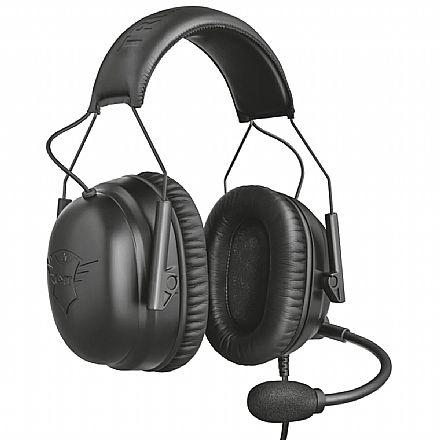 Headset Gamer Trust GXT 444 Wayman Pro - Multiplataforma - Conector P2 - T23248