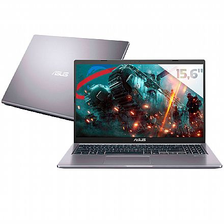 "Notebook Asus M515DA-EJ502T - Tela 15.6"" Full HD, Ryzen 5, RAM 16GB, SSD 256GB, Radeon Vega 8, Windows 10 - Cinza"