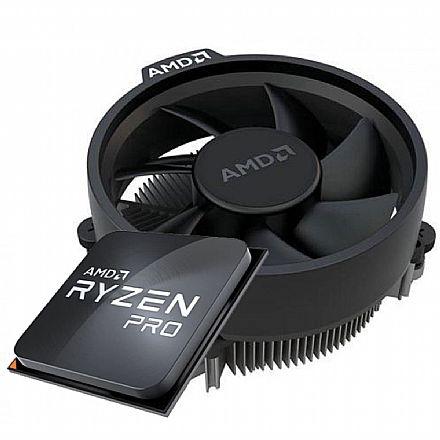 AMD Ryzen 3 4350G Pro Quad Core - 3.8GHz (4.0GHz Turbo), - Cache 6MB - AM4 - TDP 65W - 100-100000148MPK