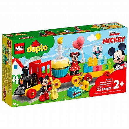LEGO DUPLO - O Trem de Aniversário do Mickey e da Minnie - 10941