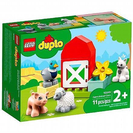 LEGO DUPLO - Cuidando dos Animais da Fazenda - 10949