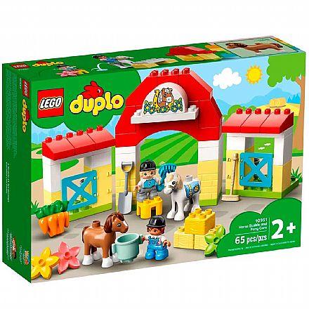 LEGO DUPLO - Estábulo de Cavalos e Pôneis - 10951