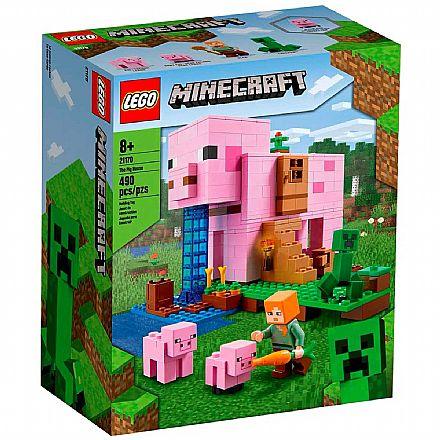 LEGO Minecraft - A Casa do Porco - 21170